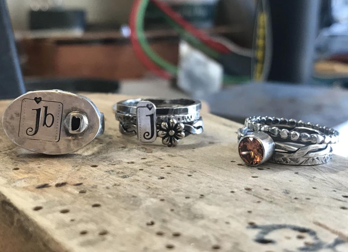 I am a metalsmith.